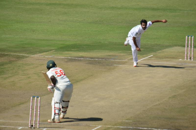 #PAKvZIM: Shaheen Afridi, Hasan Ali put Pakistan in control on day one of first Test