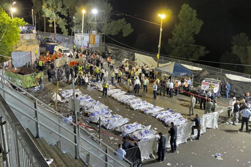 At least 44 killed at Jewish festival in Israel crush