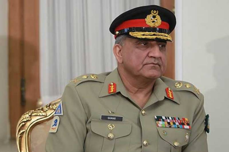 COAS Bajwa congratulates Iran on its Army Day