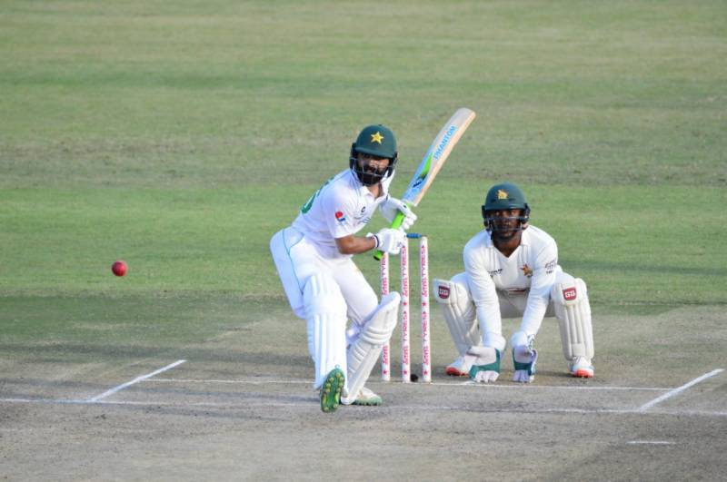 Fawad Alam's ton puts Pakistan in command of first Test against Zimbabwe