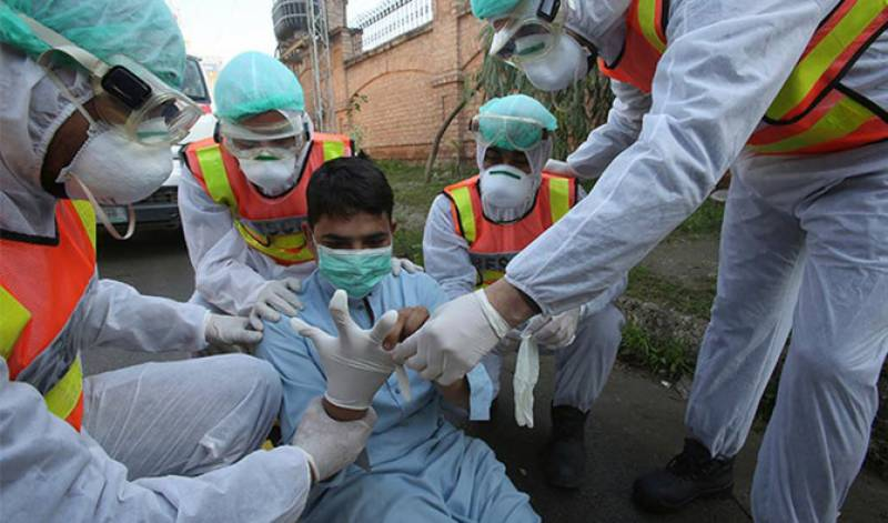 Pakistan reports 4,696 new cases, 146 deaths amid Covid-19 surge