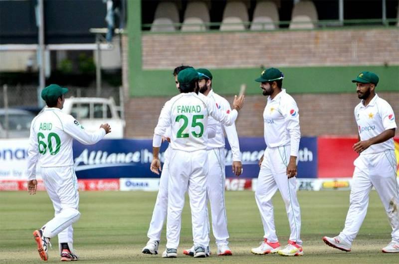 PAKvZIM – Hasan, Fawad shine as Pakistan trounce Zimbabwe in first Test