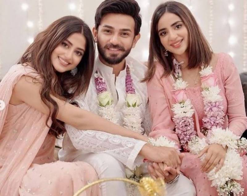 Sajal Aly shares pictures from sister Saboor's engagement