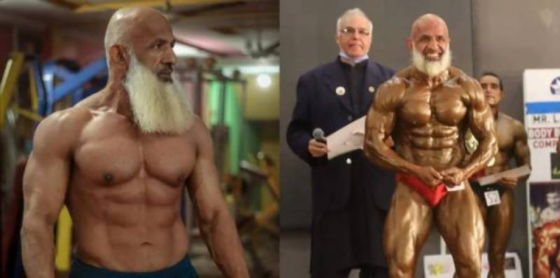 This 60-year-old Pakistani bodybuilder is eyeing Mr. Asia title