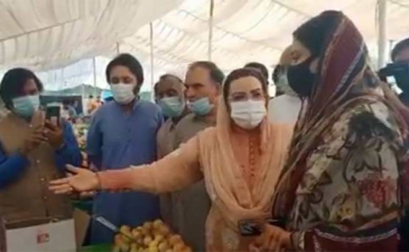 Firdous Ashiq Awan shouts at Sialkot assistant commissioner in public (VIDEOS)
