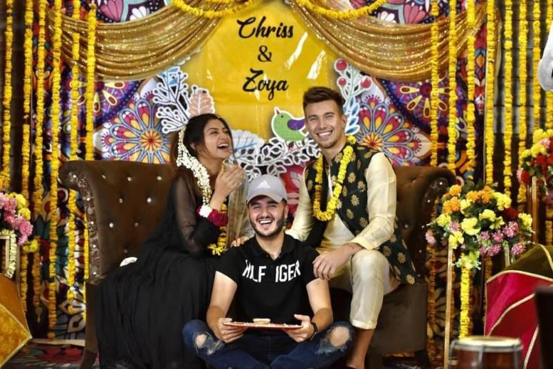 Zoya Nasir and Christian Betzmann's surprise dholki leaves fans gushing
