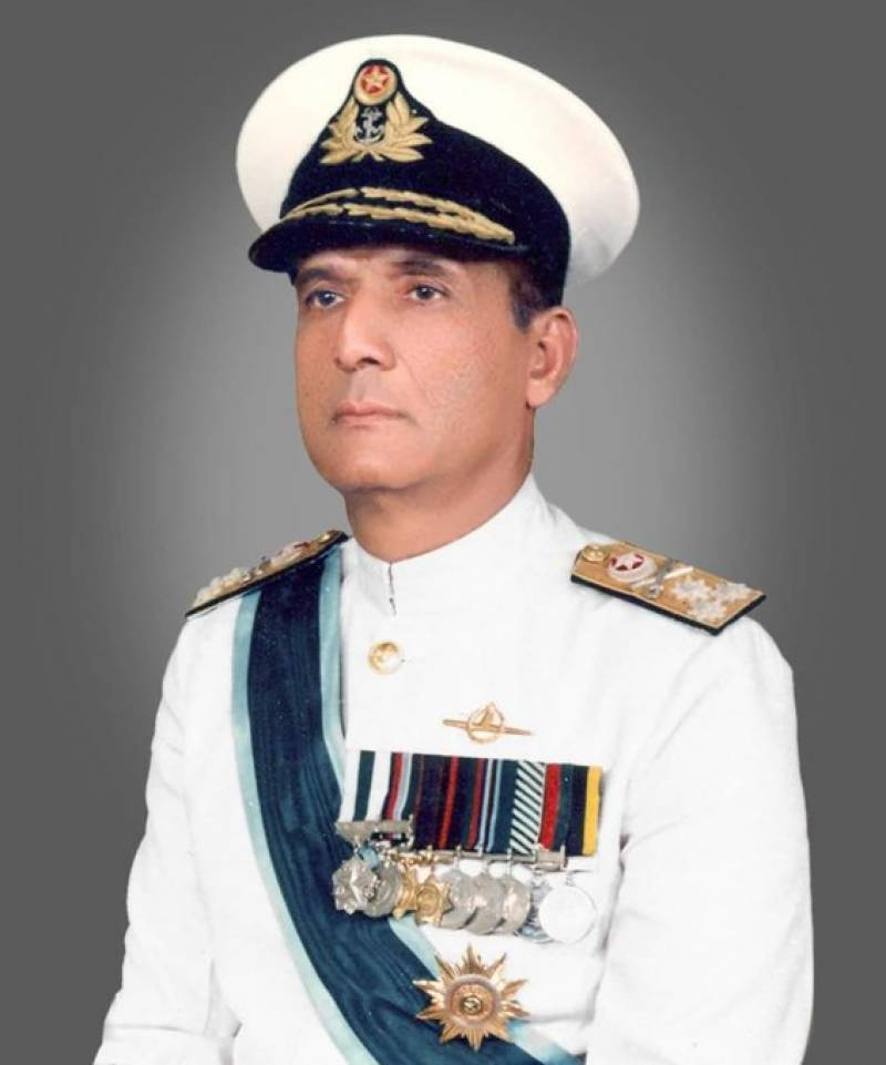 Admiral (r) Karamat Rahman Niazi, who commanded Pakistan's only submarine Ghazi during 1965 war, is no more!