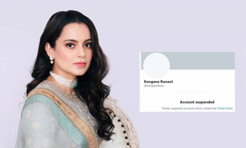 Twitter 'permanently suspends' Kangana Ranaut's account