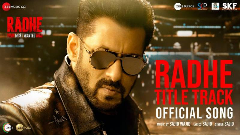 Salman Khan and Disha Patani sizzle in Radhe title track