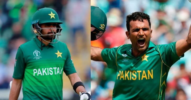Babar Azam, Fakhar Zaman nominated for ICC Men's Player of the month