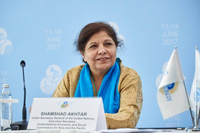 Shamshad Akhtar becomes Pakistan Stock Exchange's first female chairperson