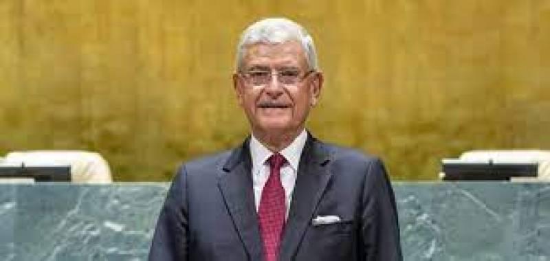 UNGA President calls for resolution of Kashmir dispute