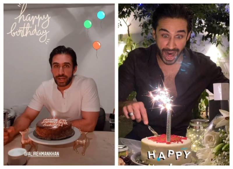 Ali Rehman Khan celebrates 33rd birthday in style