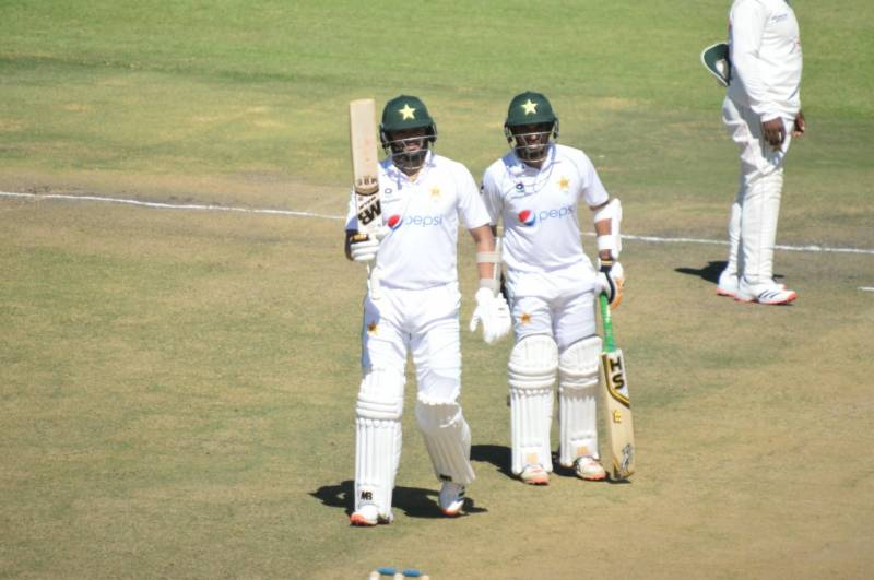 PAKvZIM: Pakistan in strong position after Abid and Azhar's brilliant centuries in second Test