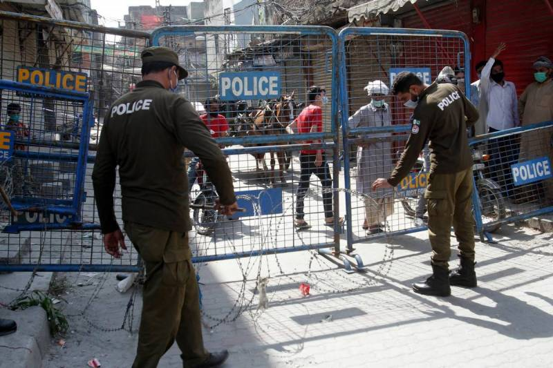 Complete lockdown imposed in Pakistan except Sindh