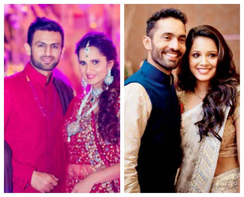 Top cricketers who married athletes