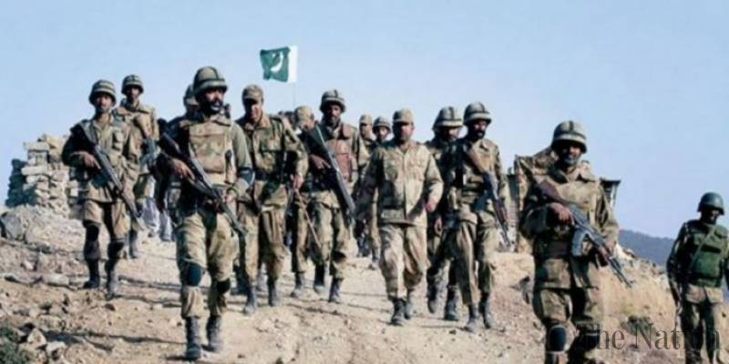 Pakistani soldier wounded in Afghan cross border firing