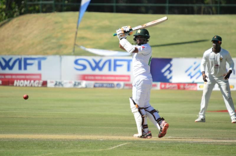 PAKvZIM – Pakistan on top after Abid Ali hits maiden double ton