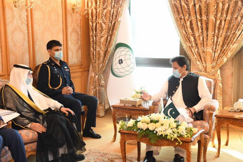 PM Imran calls for collective efforts to counter blasphemy, Islamophobia in meeting with top OIC official