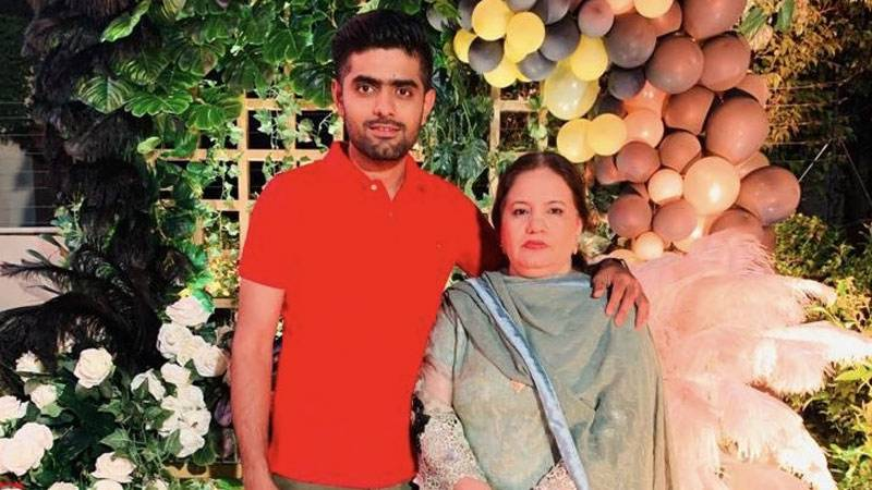 Babar Azam pays rich tribute to his mother