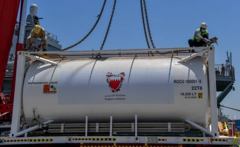 COVID-19 – Bahrain sends emergency medical aid, oxygen to Pakistan