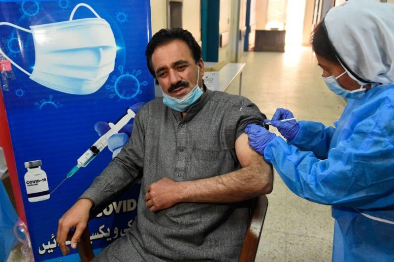 Pakistan allows AstraZeneca vaccine for people above 40