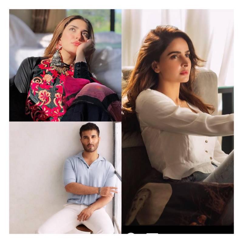 Pakistani stars voice support for Palestine