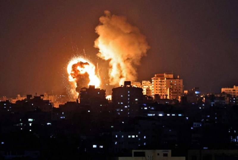 9 children among 22 Palestinians martyred in Israeli air strikes at Gaza
