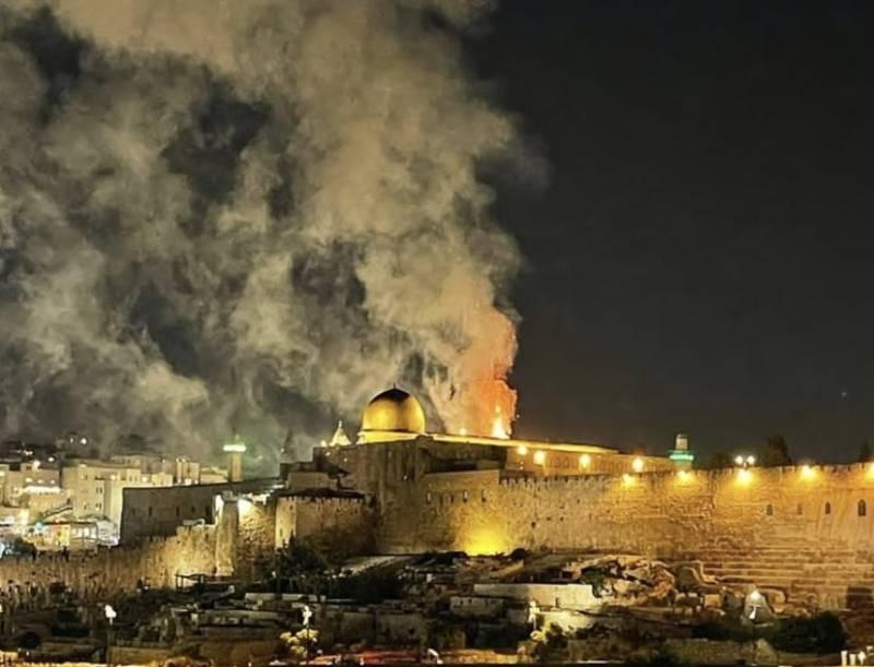 Al-Aqsa mosque – Pakistan announces Palestine Day as Israelis celebrate fire at Islam's third holiest site