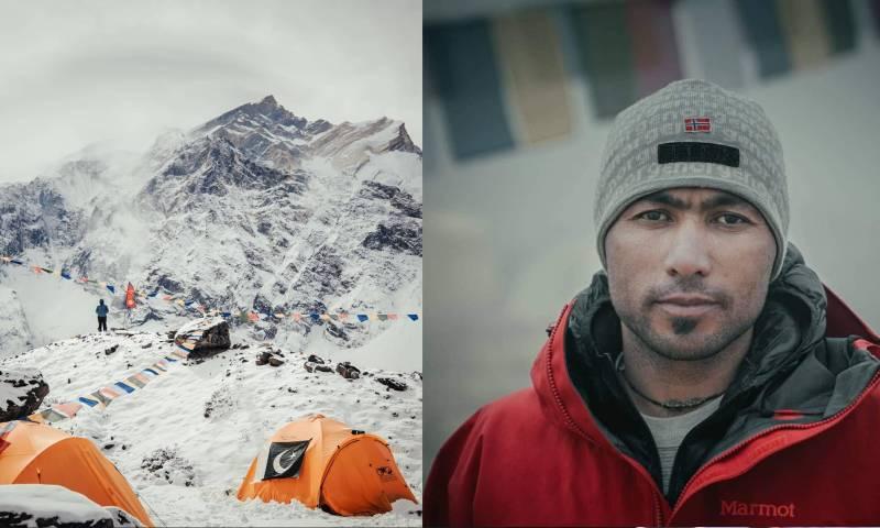 Pakistan's Sirbaz Khan scales Mount Everest