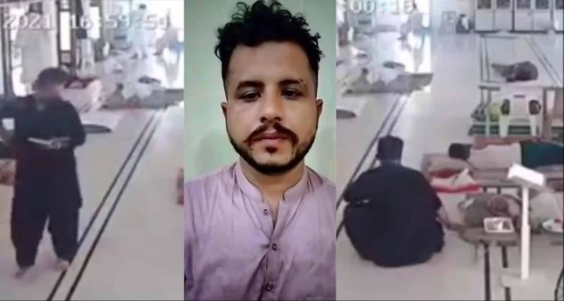 WATCH - Karachi man 'steals mobile phone' while holding Quran during Aitekaf