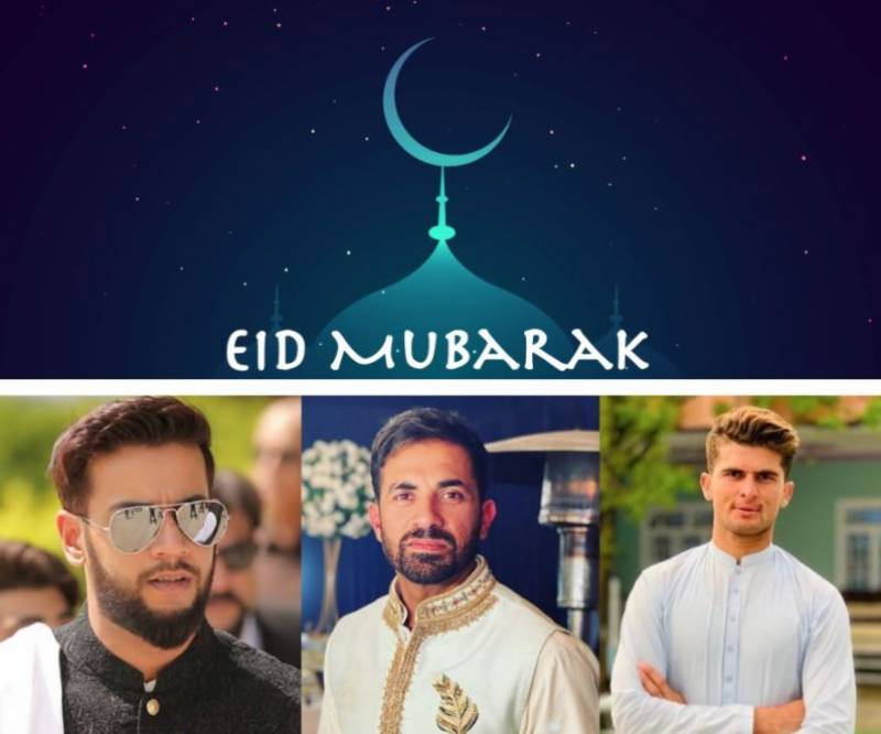 Pakistani cricketers send out Eid-ul-Fitr greetings to fans