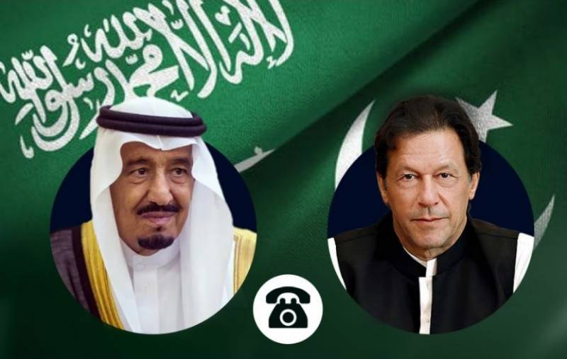 PM Imran holds telephone call with King Salman, vows to strengthen ties
