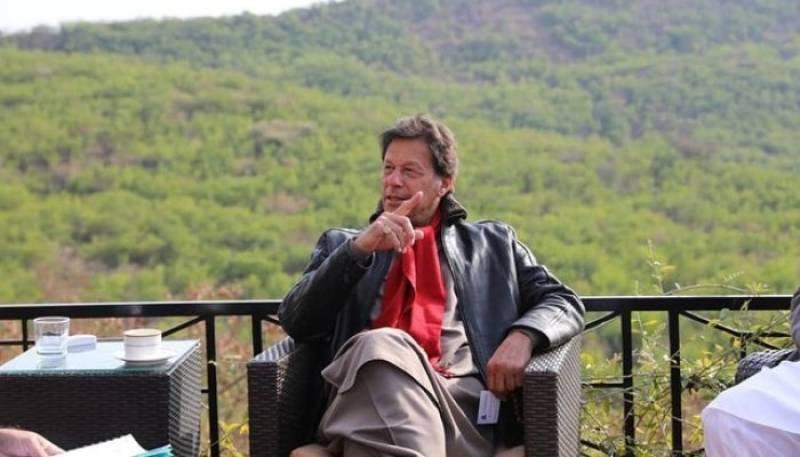 PM Imran reaches KP's Nathia Gali to celebrate Eid amid ban on tourists