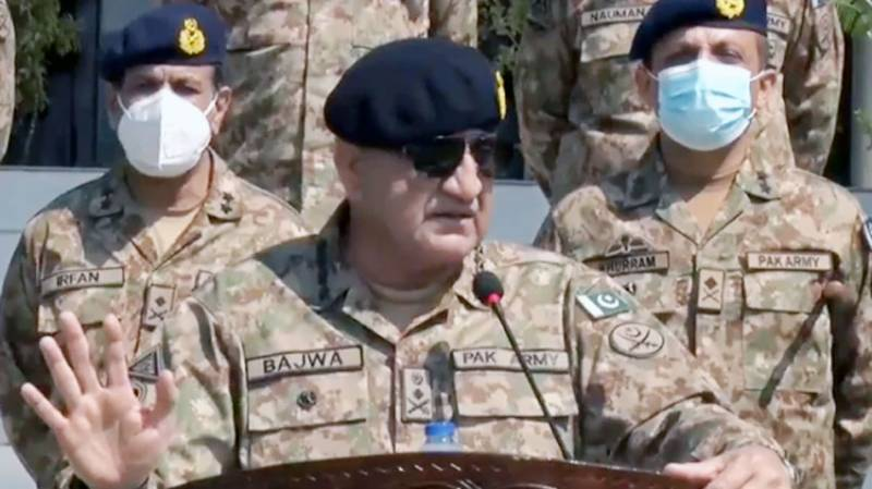 COAS Bajwa vows to maintain hard-earned peace in areas along Western border
