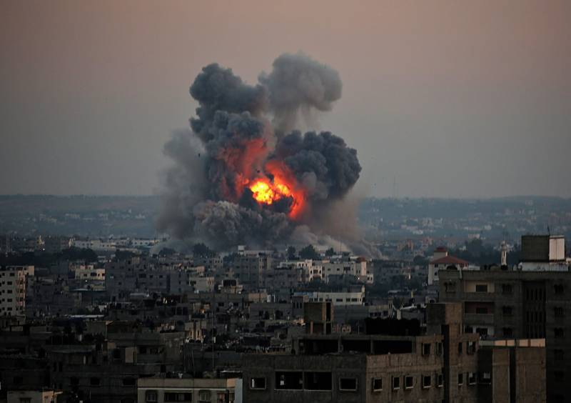 Gaza death toll rises to 115 as Israeli attacks enters fifth day