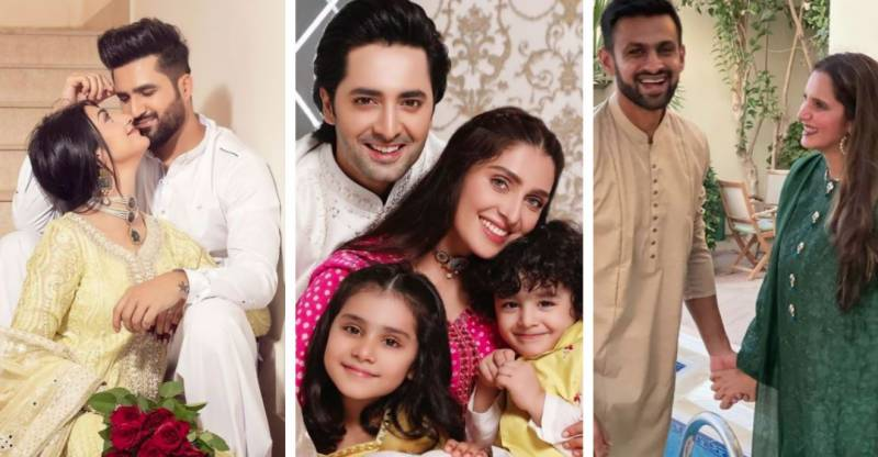 In Pictures: A look at how Pakistani stars are celebrating Eid-ul-Fitr