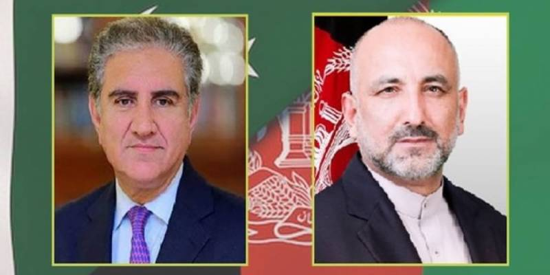 Pakistan reaffirms support for Afghan peace process, Qureshi tells Atmar