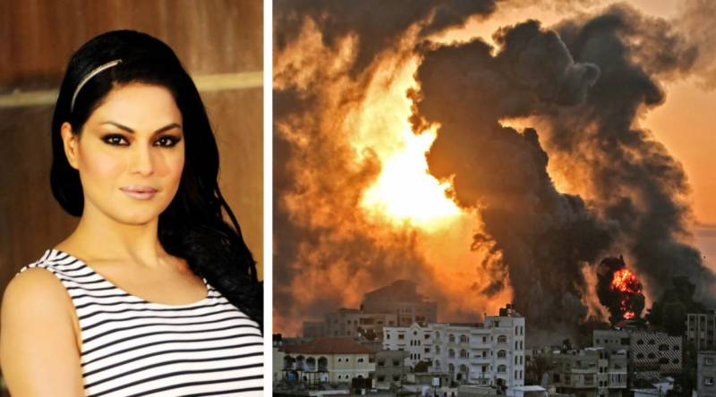 Veena Malik's Twitter account 'compromised' for quoting Hitler amid Israeli attacks on Palestine