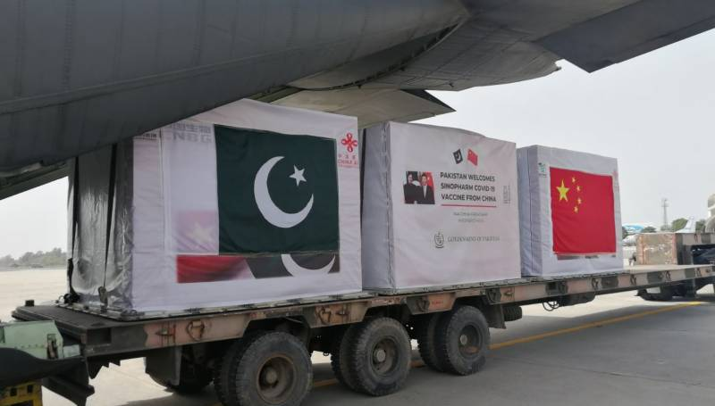 1.2mn doses of Chinese Covid vaccine to reach Pakistan tomorrow
