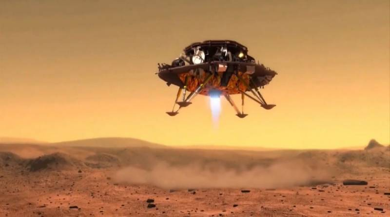 China becomes second nation to land rover on Mars amid space race