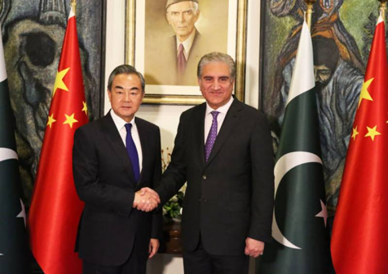 Pakistan FM discusses Palestine issue with Chinese counterpart amid Israeli aggression