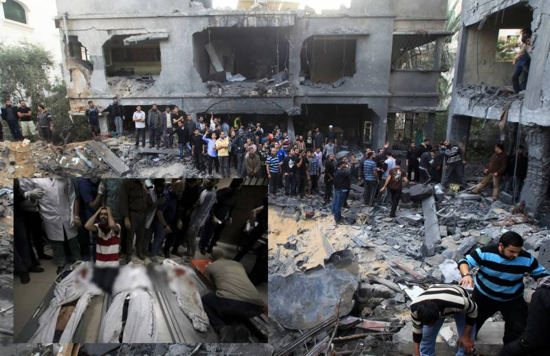 Palestinian death toll surges to 137 as Israel pounds Gaza refugee camp