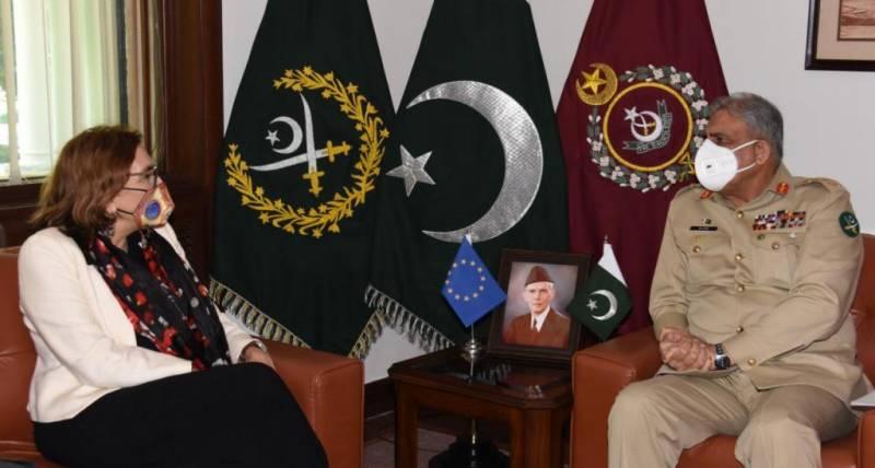 Pakistan looks forward to enhance ties with Europe Union, says COAS Bajwa