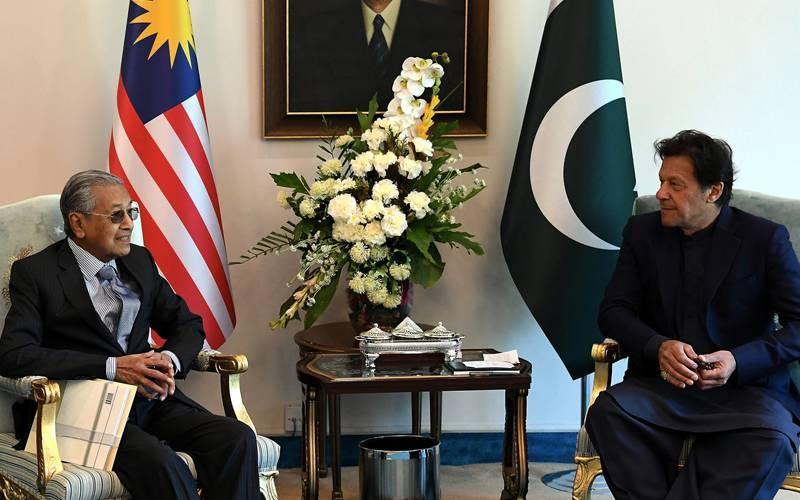PM Imran, Malaysia's Mahathir for urgent steps to halt Israeli attacks on Gaza