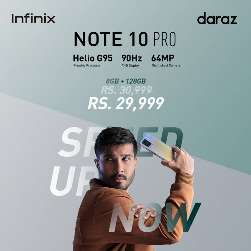 Infinix NOTE10 Pro launched in Pakistan, price, sale info, offers, specifications