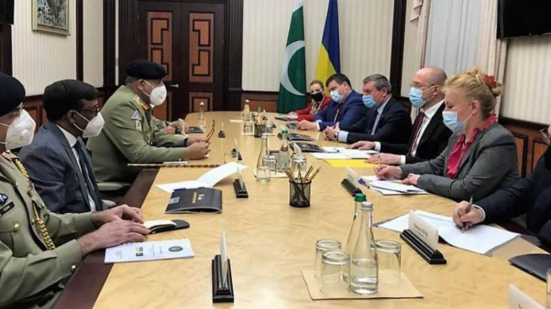 Pakistan attaches great importance to furthering ties with Ukraine: COAS