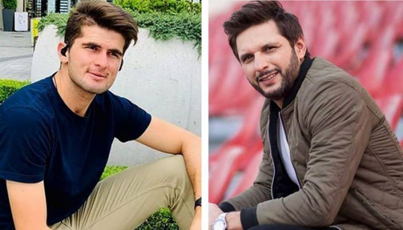Son-in-law to-be wishes speedy recovery to Shahid Afridi