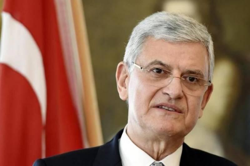 UNGA president calls for peaceful resolution of Kashmir dispute