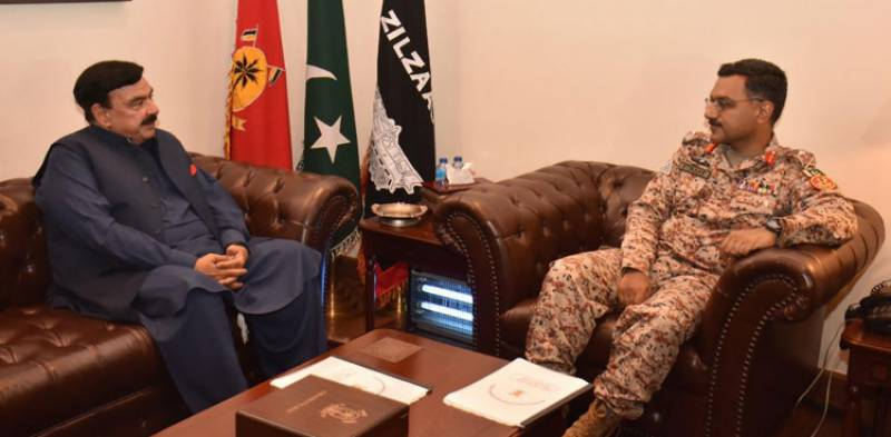 Interior Minister assures provision of resources during meeting with DG Rangers Sindh